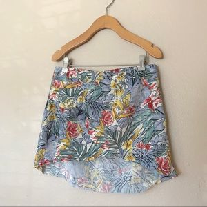 Zara tropical skirt